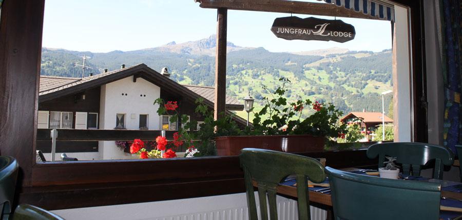 Hotel Jungfrau Lodge, Grindelwald, Bernese Oberland, Switzerland - view from dining room.jpg